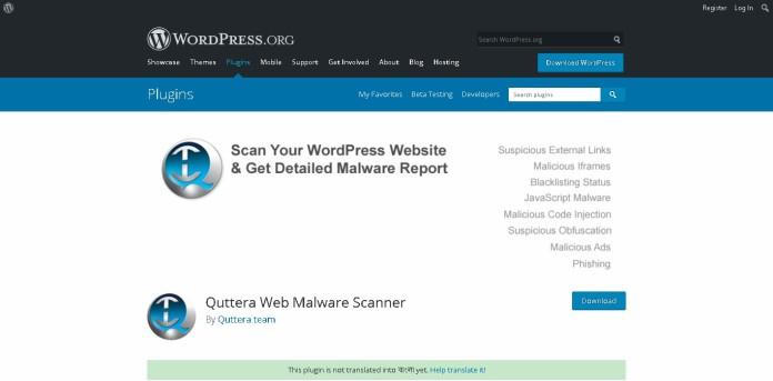 WordPress antivirus plugins
